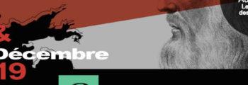 COLLOQUE INTERNATIONAL – BREST Auditorium Les Ateliers des Capucins les 05 et 06 Décembre 2019. Léonard de VInci un génie à la pointe.